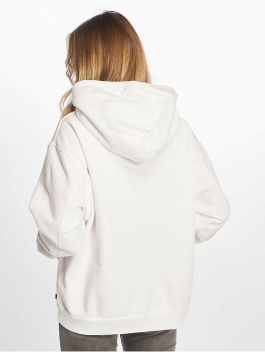 Levi's® Felpa con cappuccio Unbasic' Hoody 90s Text bianco