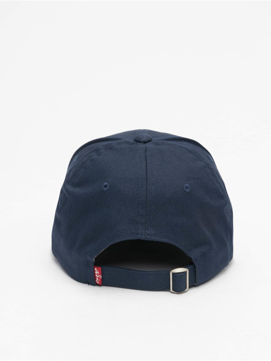 Levi's® Flexfitted Cap Mid Batwing blau