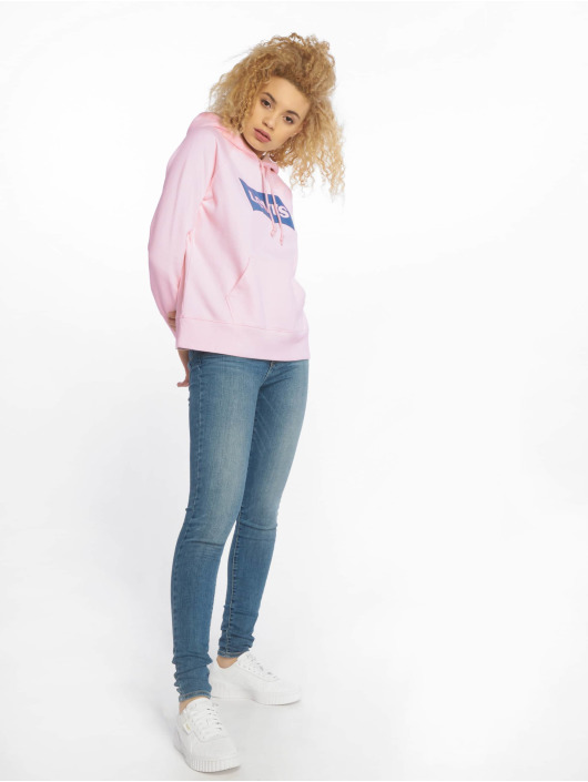 Levi's® Hoodie Graphic Sport Marys rosa