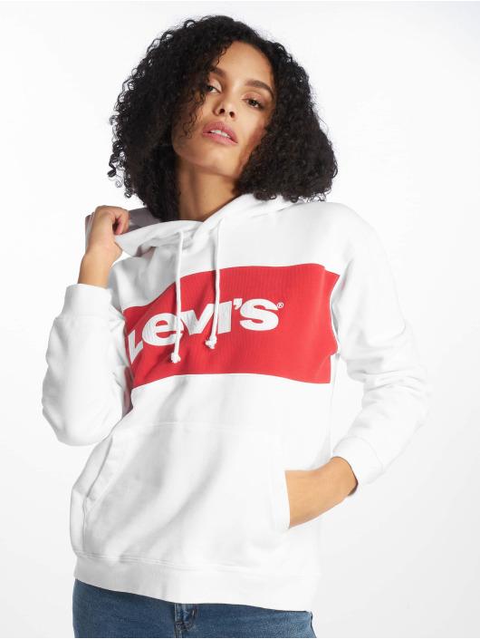 Levi's® Hoodie Sportswear white
