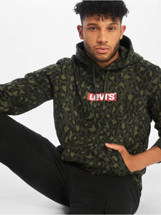 Levi's® Hoodies Graphic olivový