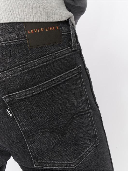 Levi's® Jean skinny L8 Leo gris