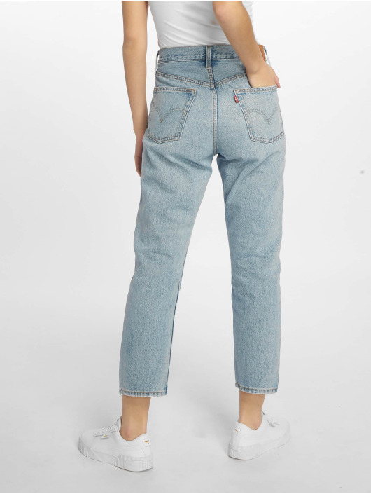 Levi's® Jeans straight fit 501 Crop Lovefool indaco
