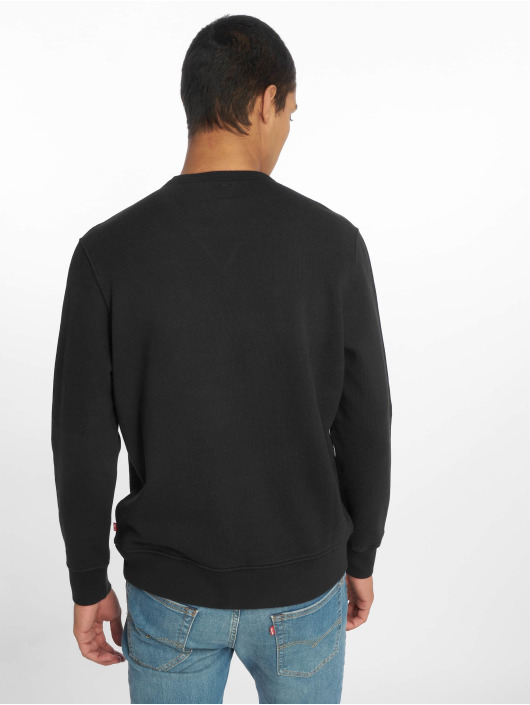 Levi's® Jersey Graphic Crew Logo Mineral negro