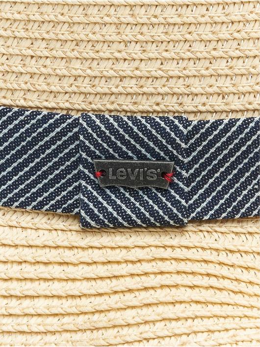 Levi's® Klobúky Straw Fedora béžová