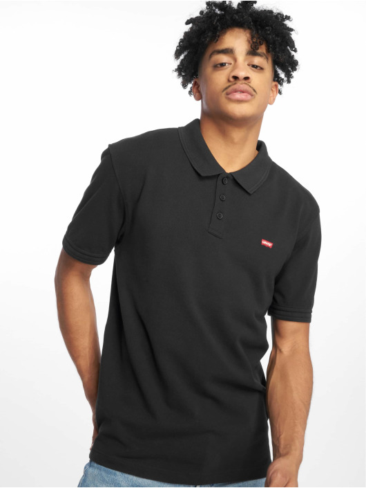 Levi's® Koszulki Polo Housemark Mineral czarny