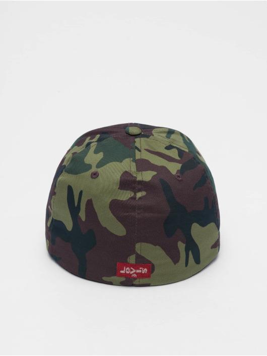 Levi's® Lastebilsjåfør- / flexfitted caps Big Batwing Flex Fit 210 kamuflasje