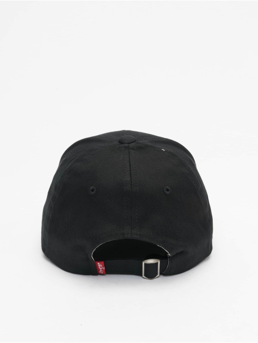 Levi's® Lastebilsjåfør- / flexfitted caps Mid Batwing svart
