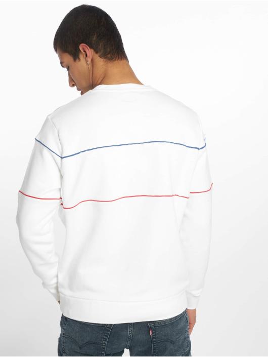 Levi's® Maglia Reflective Crew Logo bianco