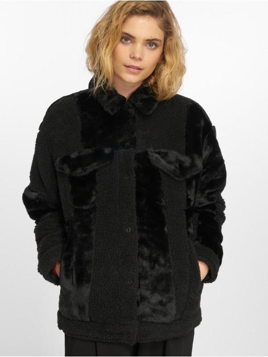 Levi s®   Patchwork Baggy Trucker noir Femme Manteau hiver 552078 26aad0b3c913