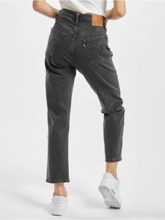 Levi's® Mom Jeans 501 Crop Dancing In The Dark Mom schwarz