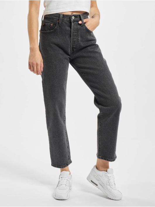 Levi's® Mom Jeans 501 Crop Dancing In The Dark Mom zwart