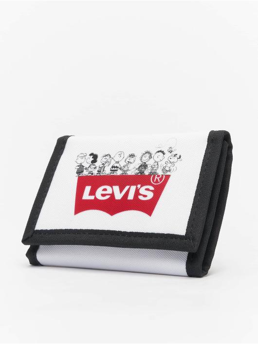 Levi's® Peňaženky Peanuts Squad Tri-Fold biela