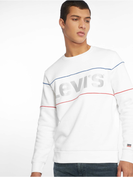 Levi's® Pullover Reflective Crew Logo weiß