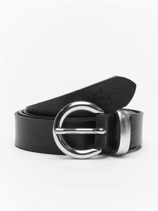 Levi's® riem Larkspur zwart