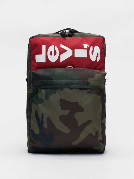 Levi's® Rucksack L Pack Printed Camo schwarz