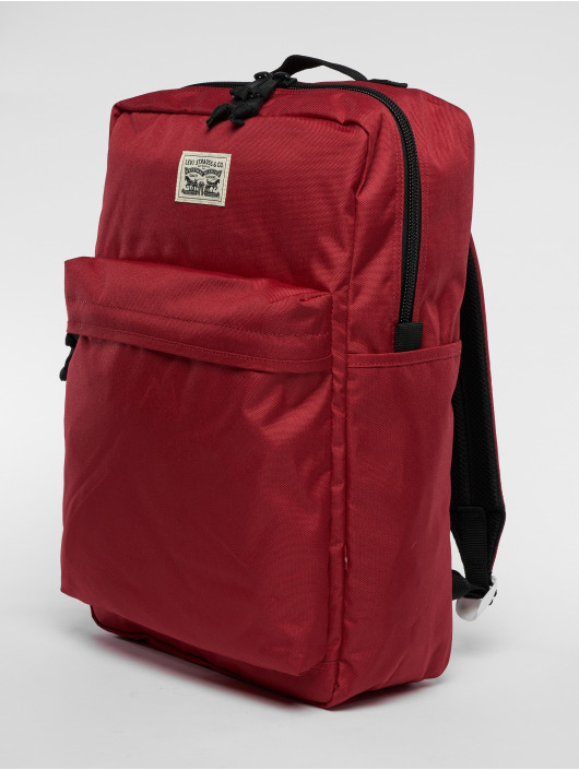 undefeated x quality products good texture Levi's® The L Pack Bagpack Brilliant Red