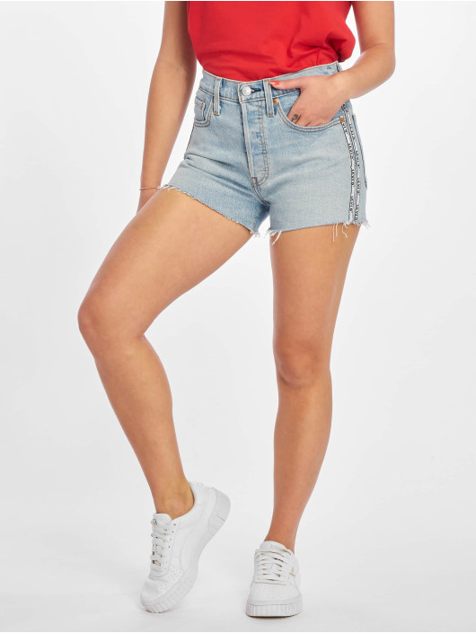 Levi's® Shorts 501 High Rise blu