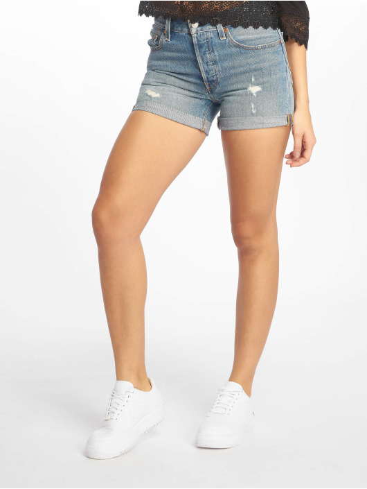 Levi's® Shorts 501 Long Highways Byways Denim indigo