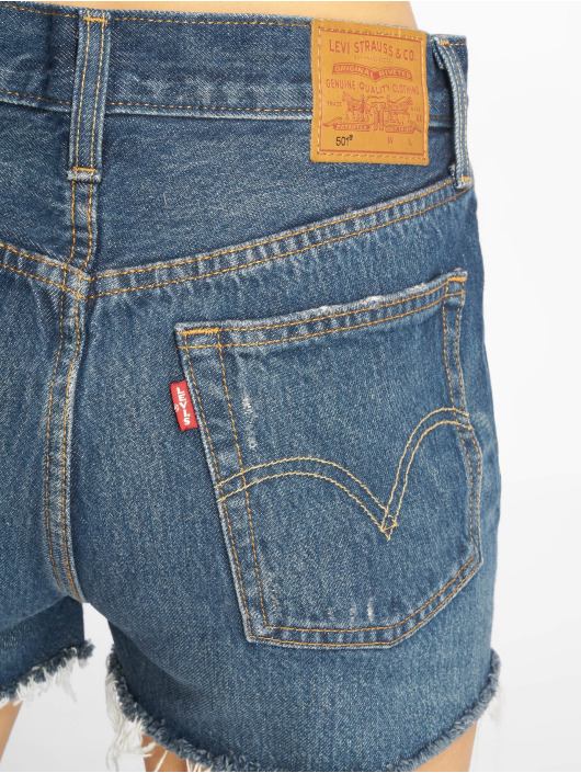Levi's® Shorts 501 High Rise Silvern Lake indigo