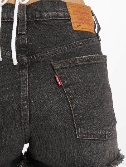 Levi's® Shorts 501 High Rise svart