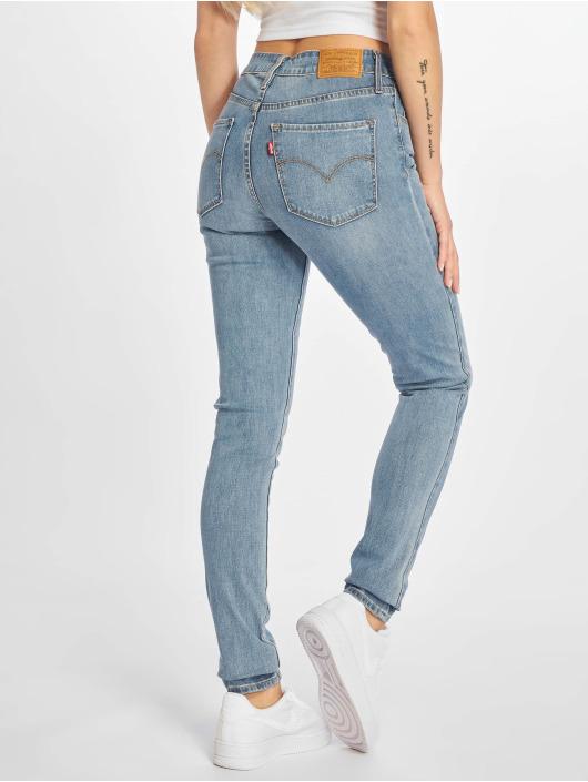 Levi's® Skinny Jeans 721 High Rise modrý