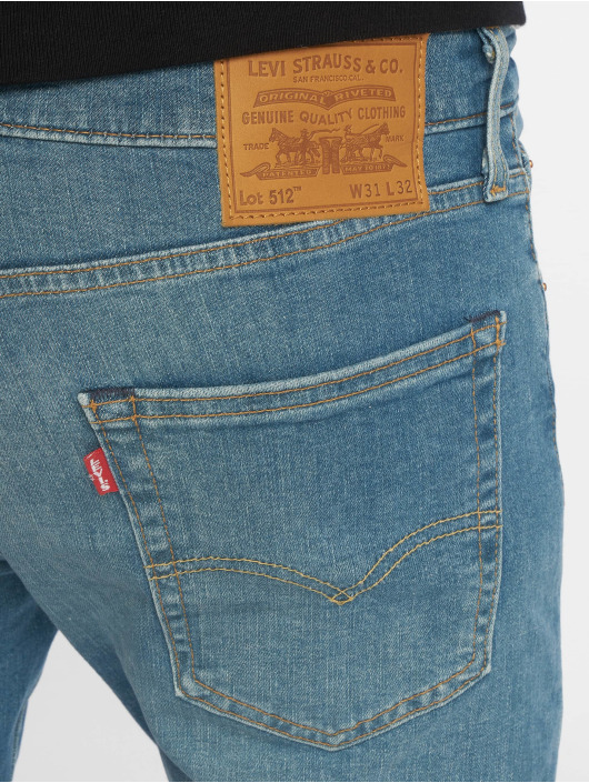 Levi's® Slim Fit Jeans 512 Taper 4 Leaf Clover indaco