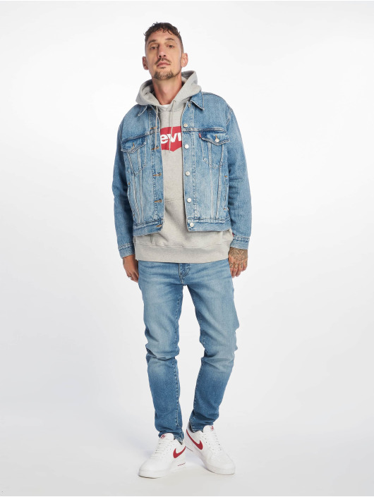 Levi's® Slim Fit Jeans 512™ Taper modrý