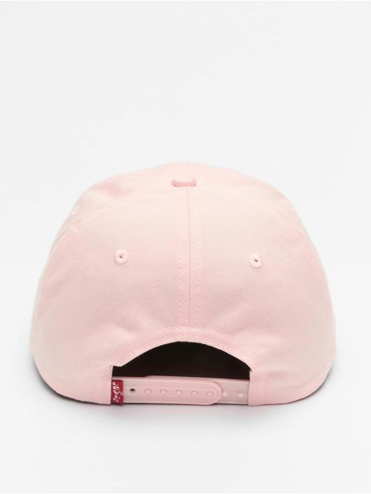 Levi's® Snapback Cap Serif Logo OV rosa