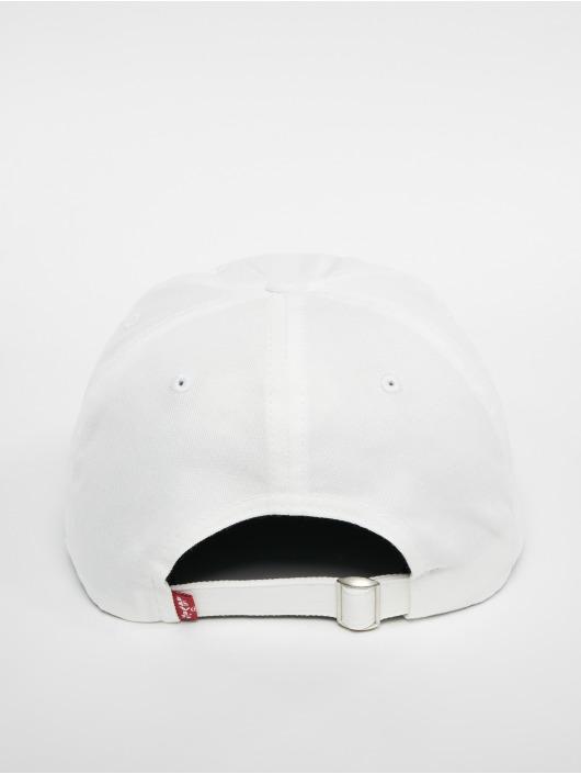 Levi's® Snapback Caps Big Batwing bialy