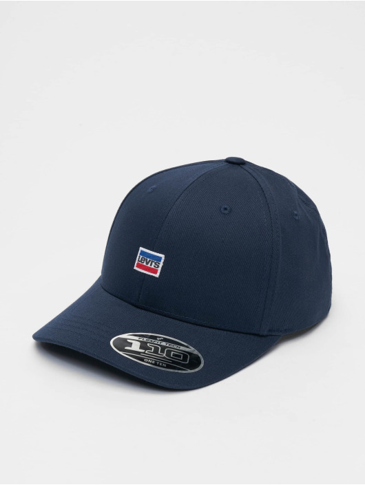 Levi's® Snapback Caps Mini Sportswear Logo blå