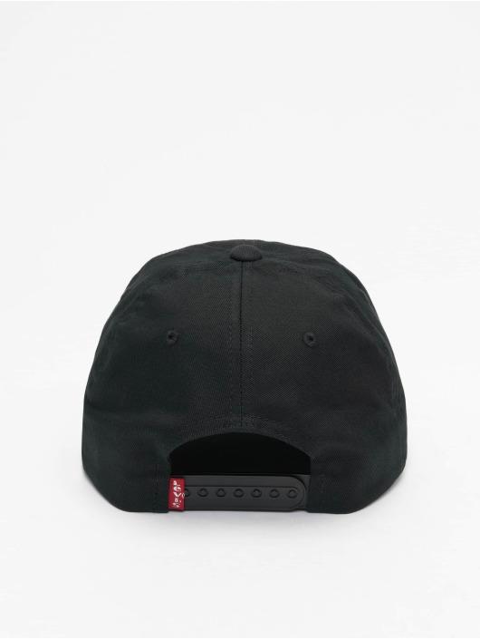 Levi's® Snapback Caps Big Batwing Camo czarny
