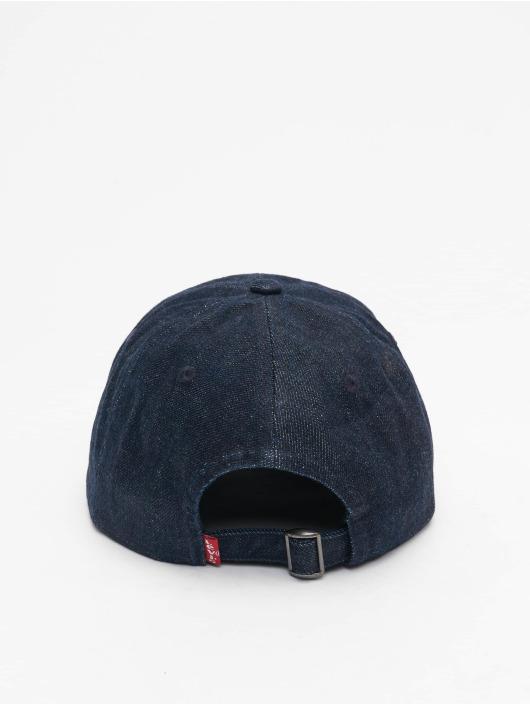 Levi's® Snapback Caps Mid Batwing Ball Denim niebieski
