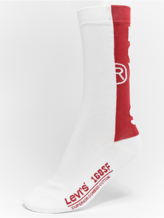 Levi's® Socken 168 SF Regular Cut weiß
