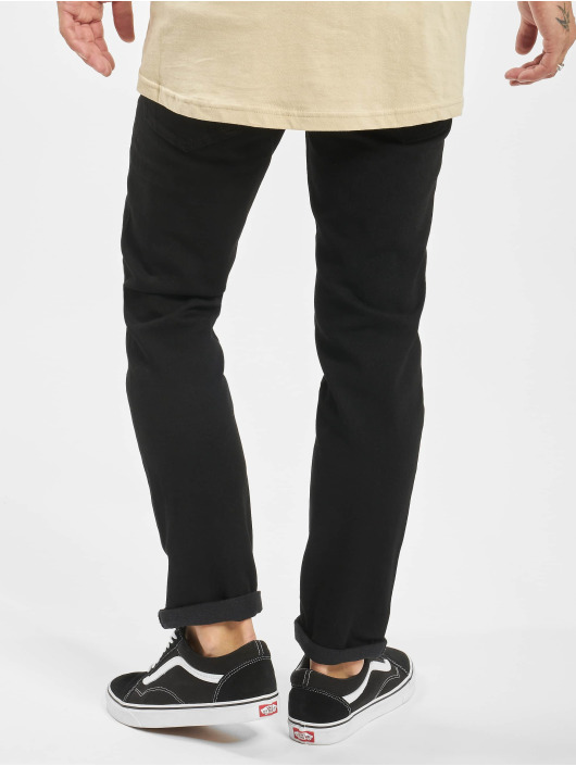Levi's® Straight fit jeans Hi Ball Roll zwart