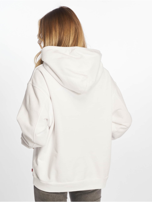 Levi's® Sweat capuche Unbasic' Hoody 90s Text blanc