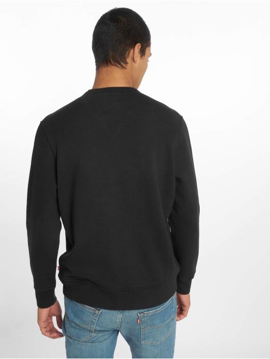 Levi's® Swetry Graphic Crew Logo Mineral czarny