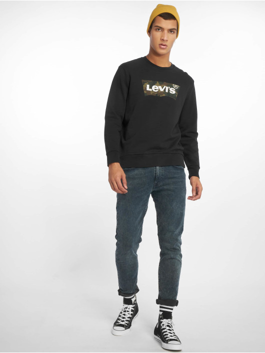 Levi's® Swetry Graphic Crew Fill czarny