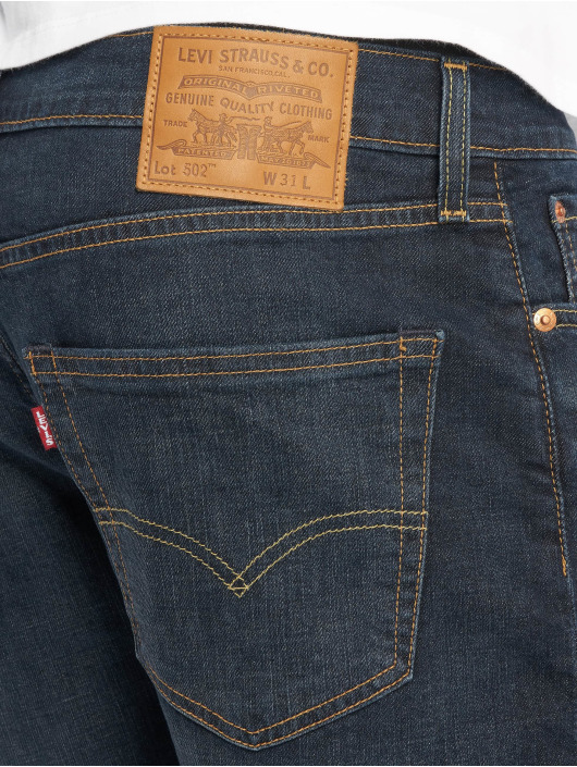 Levi's® Szorty 502 Taper Hemmed Saturn Denim indygo