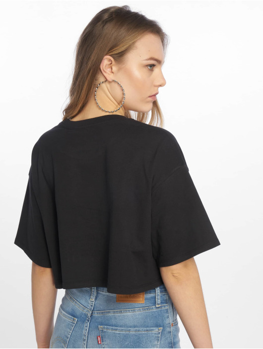 Levi's® T-Shirt Graphic Crop Slacker Tee Peanuts Sister black