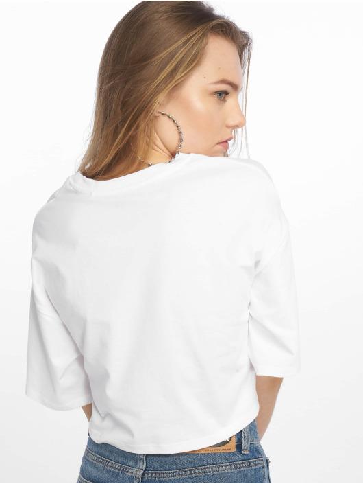 Levi's® T-Shirt Graphic Crop Slacker Tee Peanuts blanc