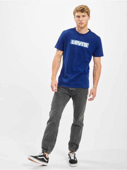Levi's® T-Shirt Graphic Set-In Neck II Boxtab bleu