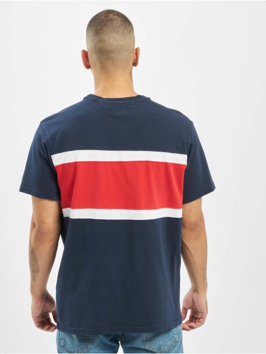 Color Levi's® Red Shirt Blueswhitebrilliant Block T Dress IYgv76ybf
