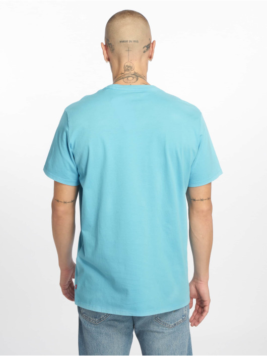 Levi's® T-Shirt Graphic Set In Neck blue