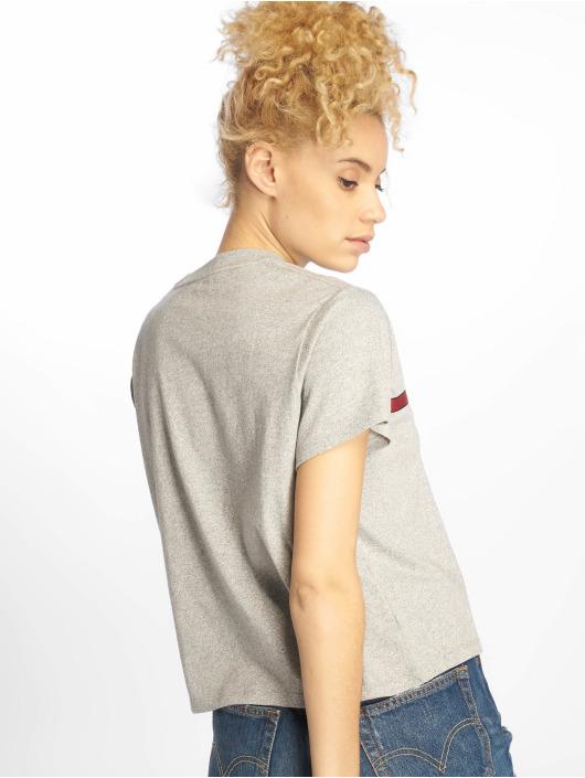 Levi's® T-Shirt Graphic Varsity Text Tape grey