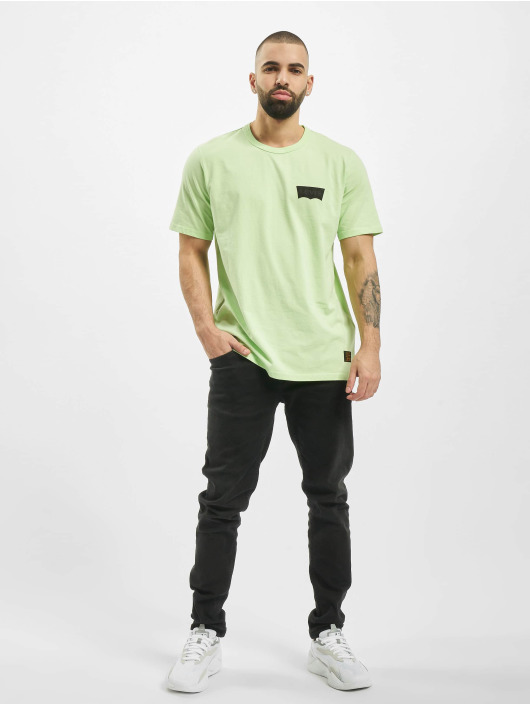 Levi's® t-shirt Skate Graphic groen