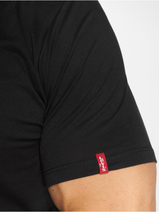 Levi's® T-Shirt 2-Pack noir