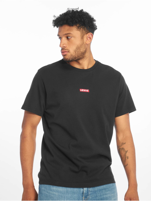 Levi's® T-Shirt Ss Relaxed Baby Tab T noir
