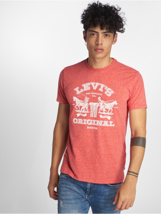 Levi's® T-Shirt 2horse Graphic 2h red