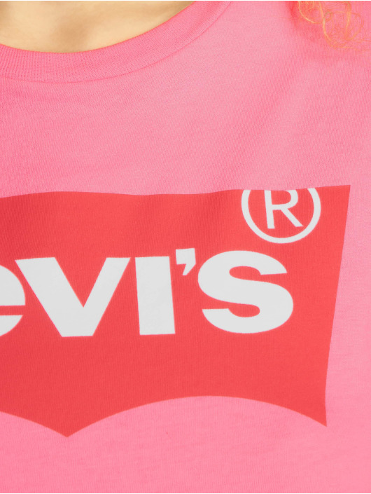 Levi's® T-Shirt The Perfect Tee Sache red